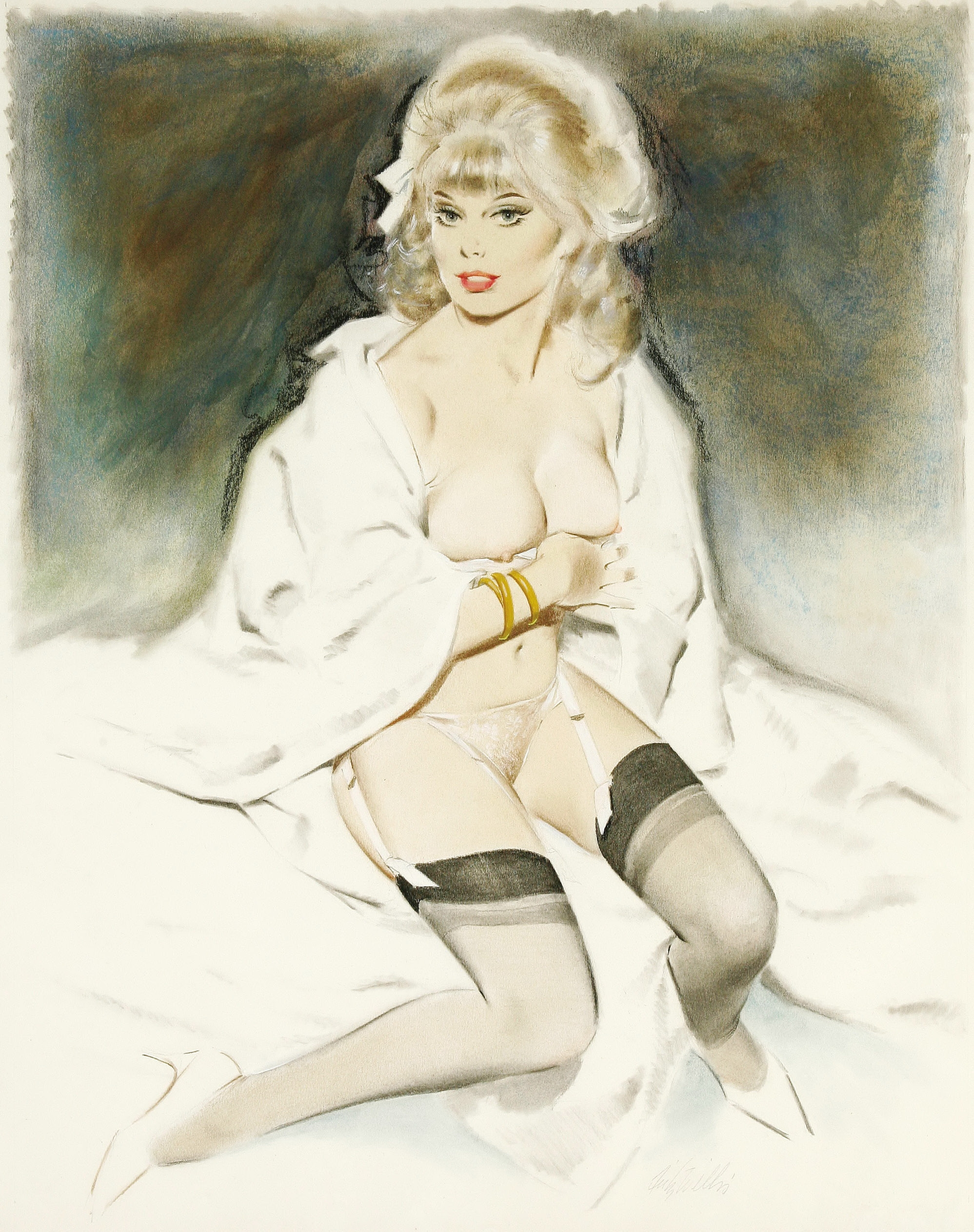 Fritz Willis Pin-Up Art 0001