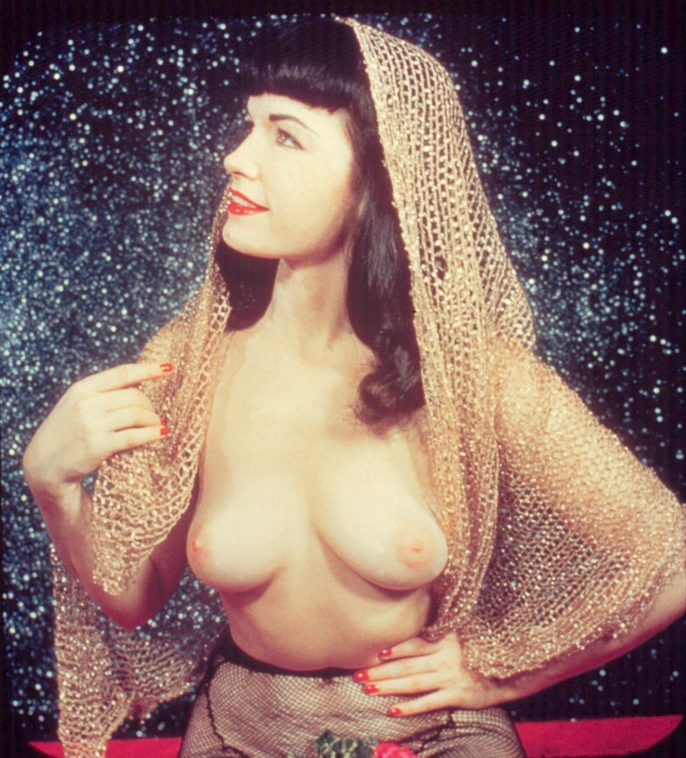 Bettie page tits, big boobed naked chicks getting fucked