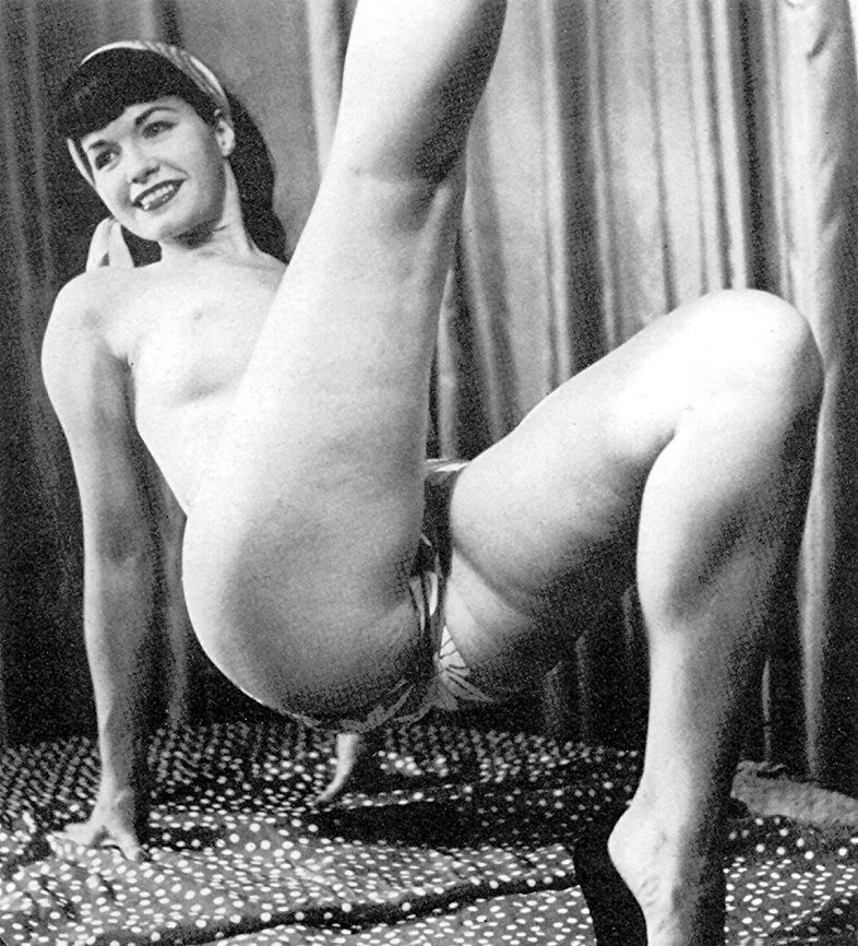 Betty Page Nude Gallery