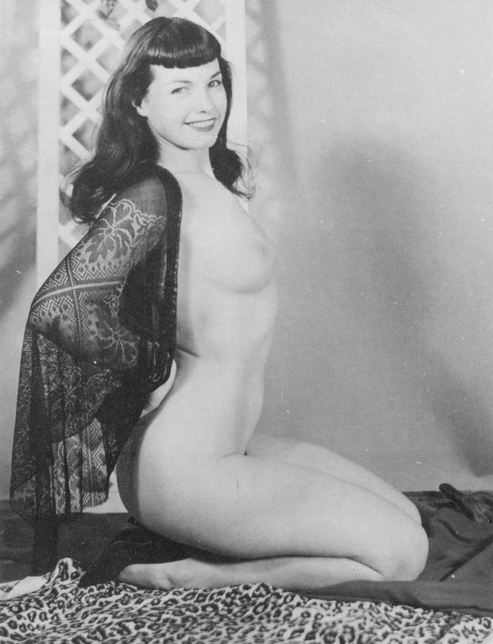 Hot bettie page nude, girls next door uncensored gif