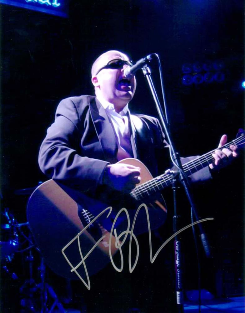 FRANK BLACK The Pixies Autograph