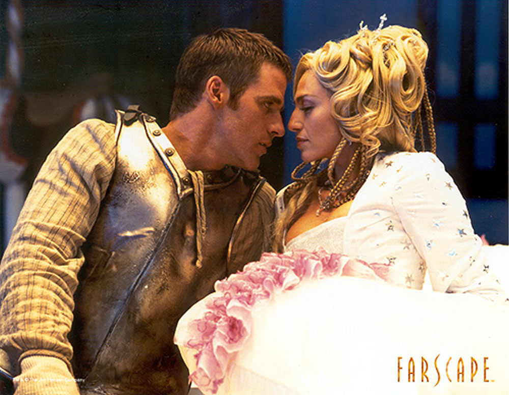 Farscape Ben Browder Claudia Black Autograph