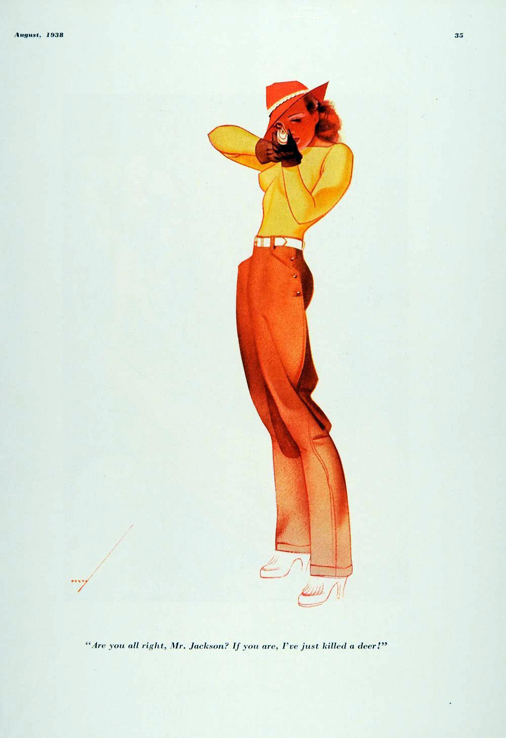 George Petty Pin-Up Art 015