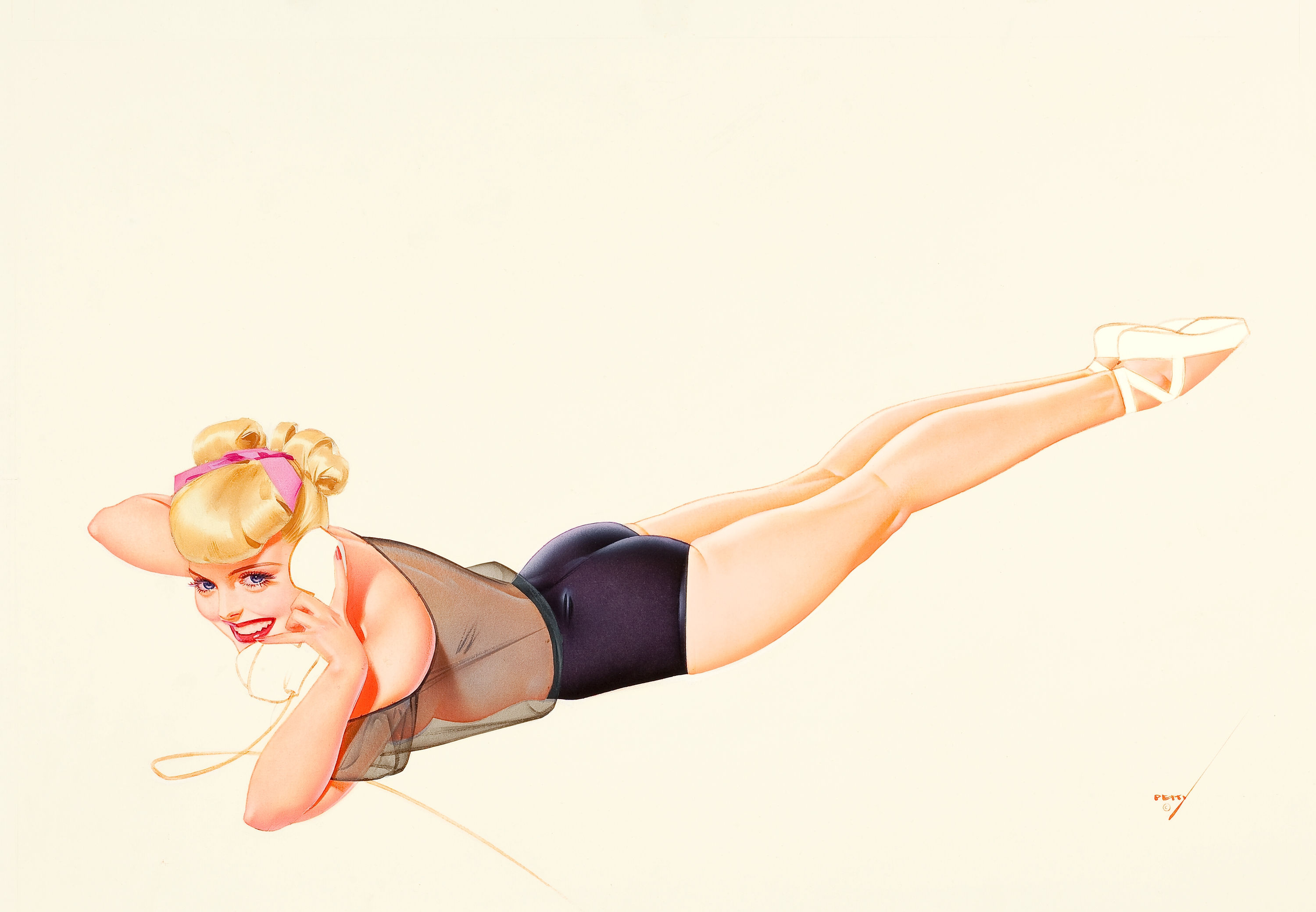 George Petty Pin-Up Art 017