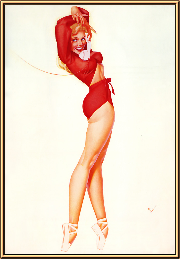George Petty Pin-Up Art 037