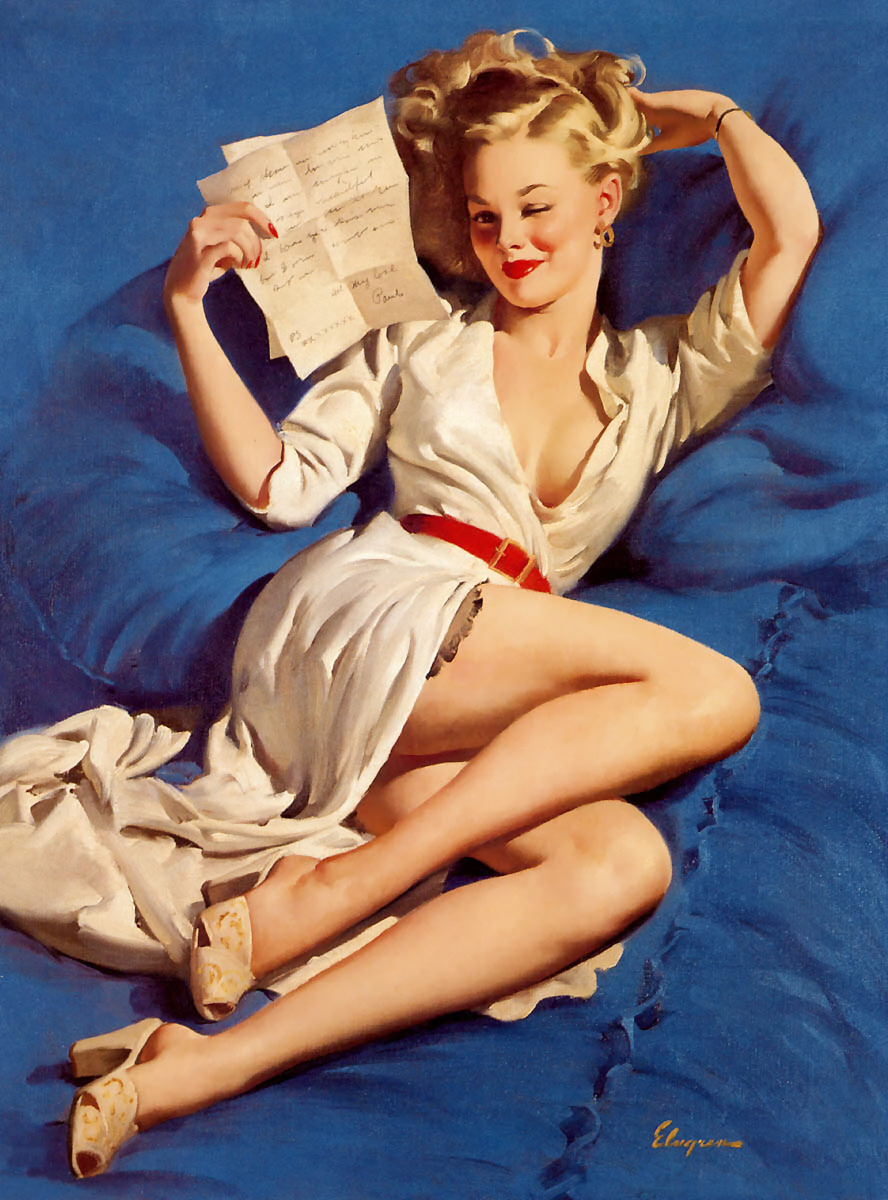 Gil Elvgren Pin-Up Art 022