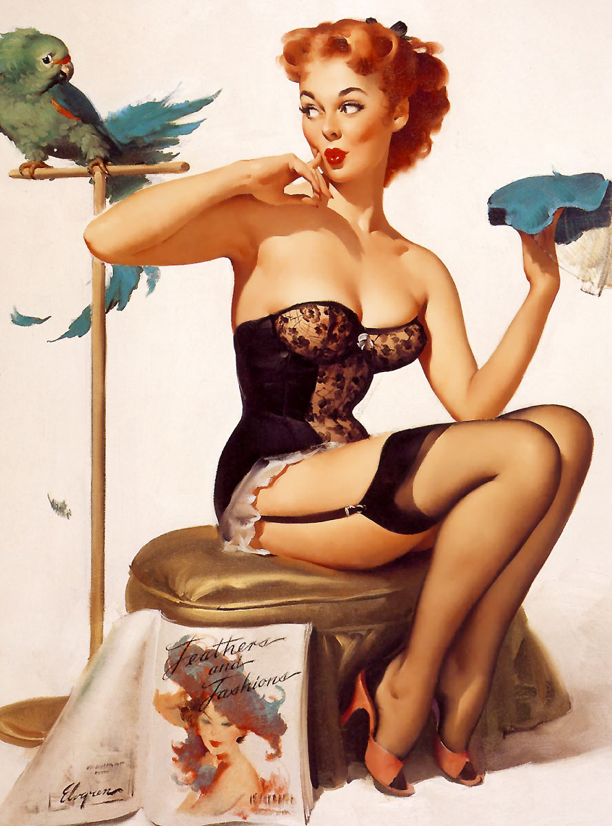 Gil Elvgren Pin-Up Art 032