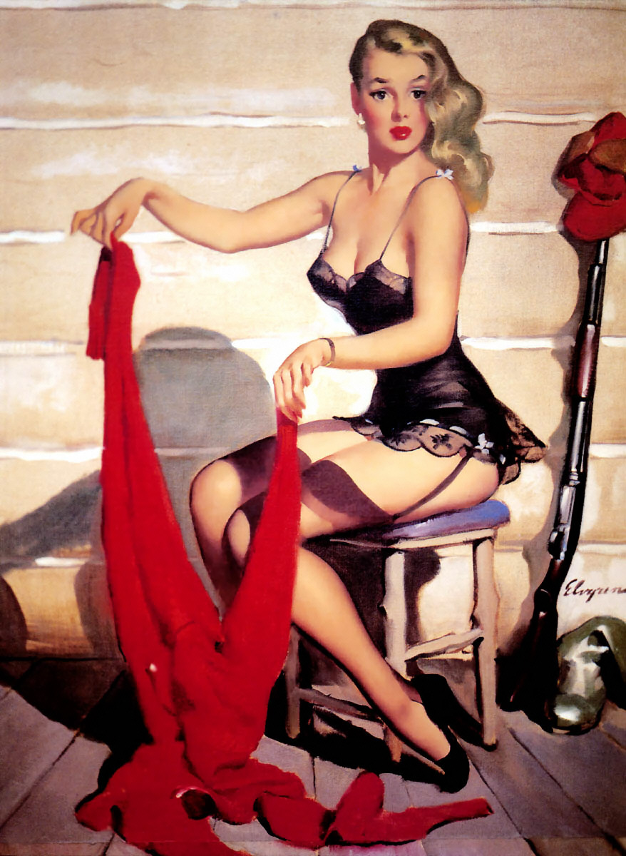 Gil Elvgren Pin-Up Art 033
