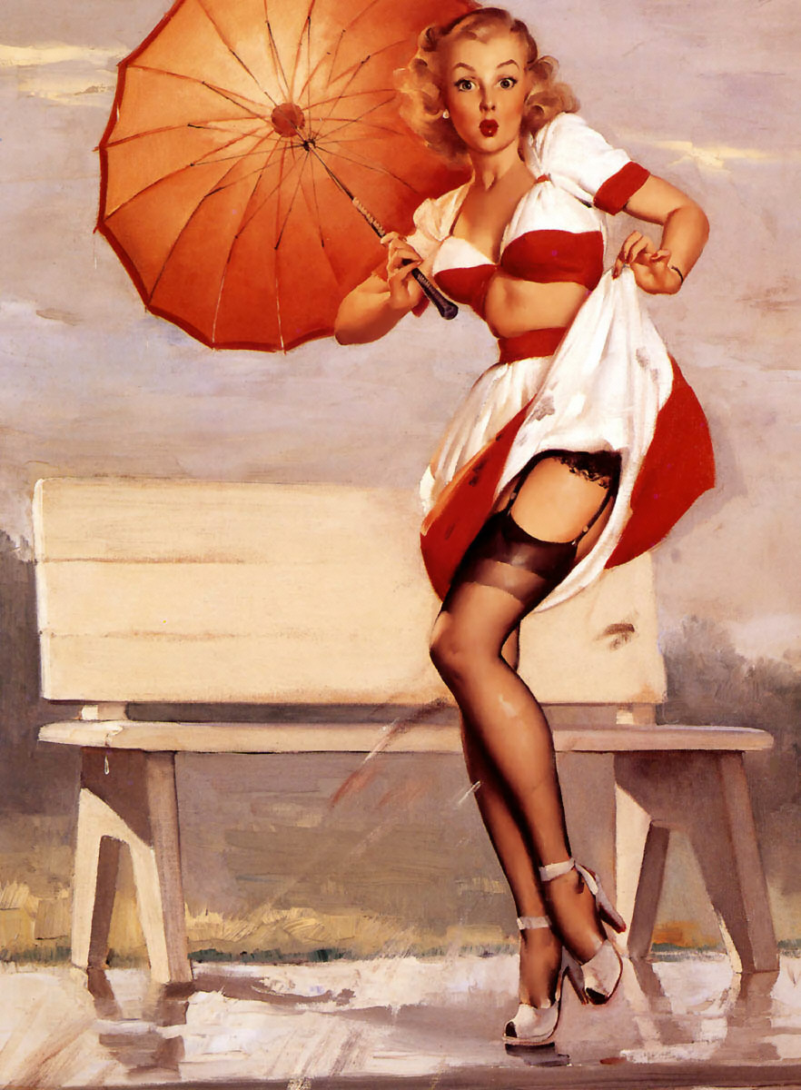 Gil Elvgren Pin-Up Art 034