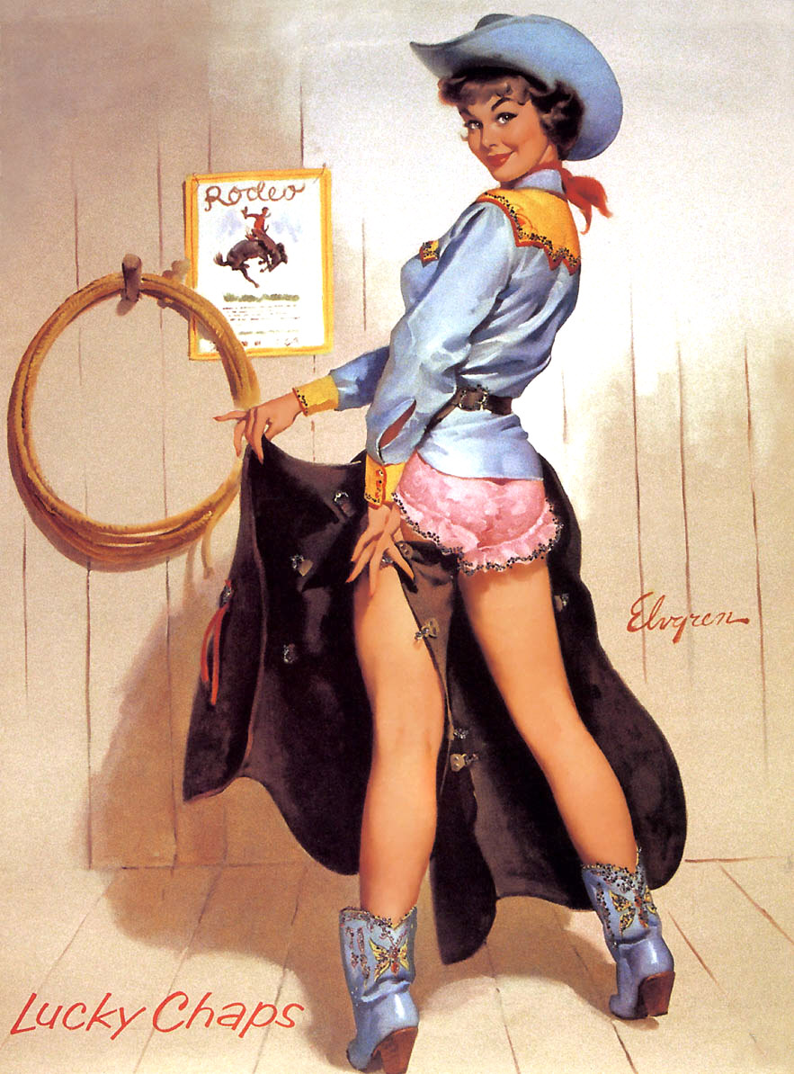 Gil Elvgren Pin-Up Art 035