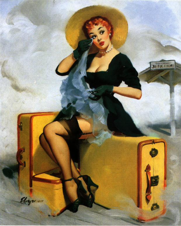 gil evgren vintage pin up art pin up girls. Black Bedroom Furniture Sets. Home Design Ideas