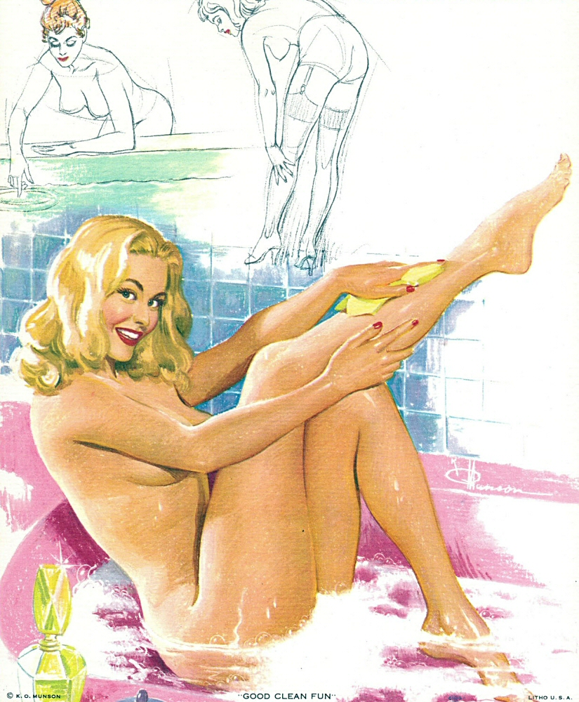 K O Munson Pin-Up Art 008