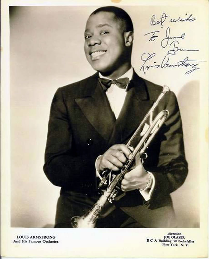 a life history of louis armstrong the musician A recordclick genealogy researcher searchers to find the family of musician louis armstrong  a genealogy researcher looks in the shadow of  of his life came to.