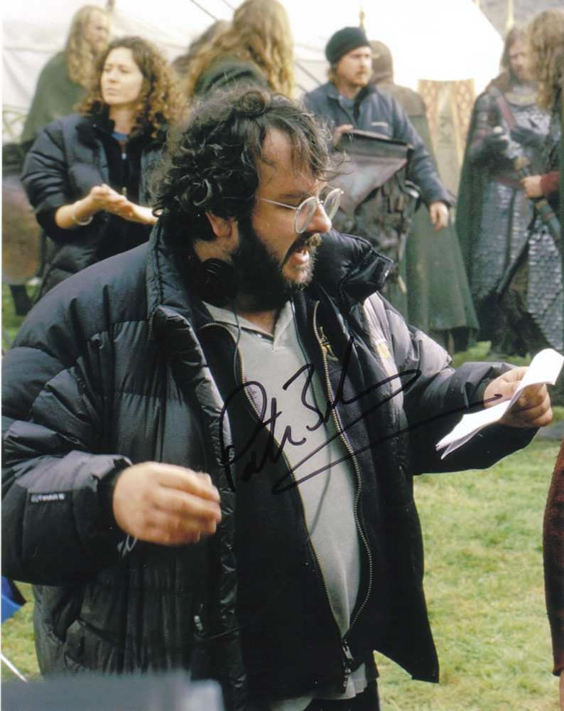 PETER JACKSON Lord of the Rings Autograph
