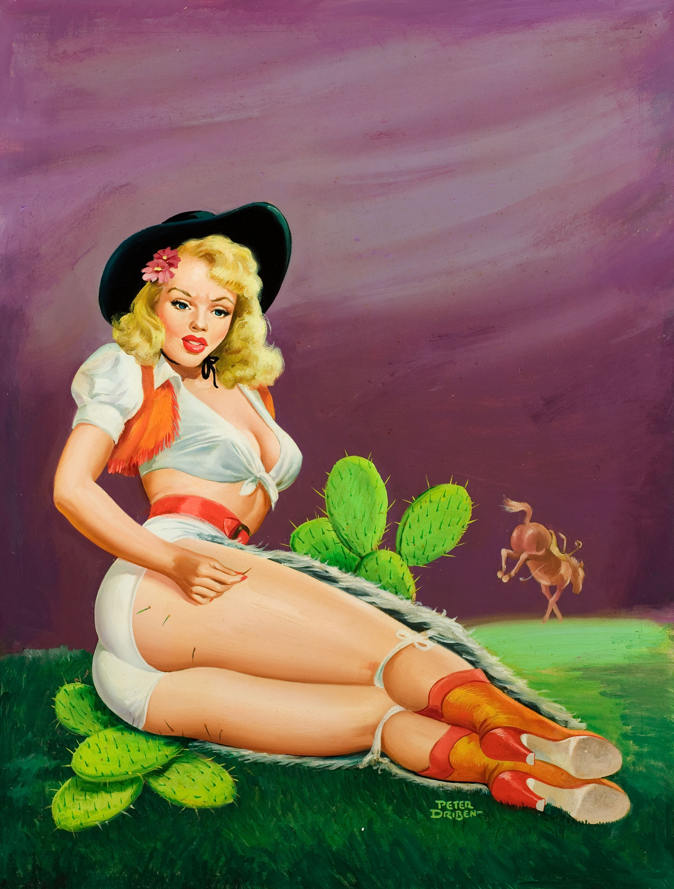 Peter Driben Pin-Up Art 003