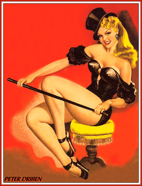 Peter Driben Pin-Up Art 005
