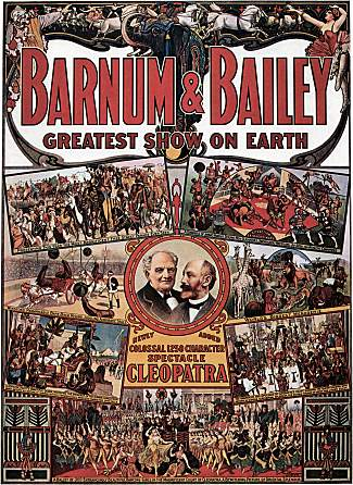 Vintage-Circus-Posters-Barnum-and-Bailey-Egypt-Cleopatra-and-Antony