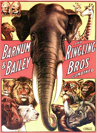 Vintage-Circus-Posters-Barnum-and-Bailey-and-Ringling-Bros-Combined---Elephant