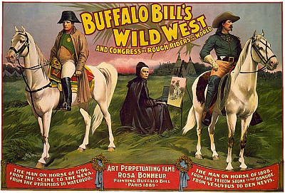 Vintage-Circus-Posters-Buffalo-Bill's-Wild-West-and-Congress-of-Rough-Riders