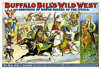 Vintage-Circus-Posters-Buffalo-Bill's-wild-west-and-congress-of-rough-riders-of-(1)