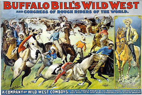Vintage-Circus-Posters-Buffalo-Bill's-wild-west-and-congress-of-rough-riders-of-(2)