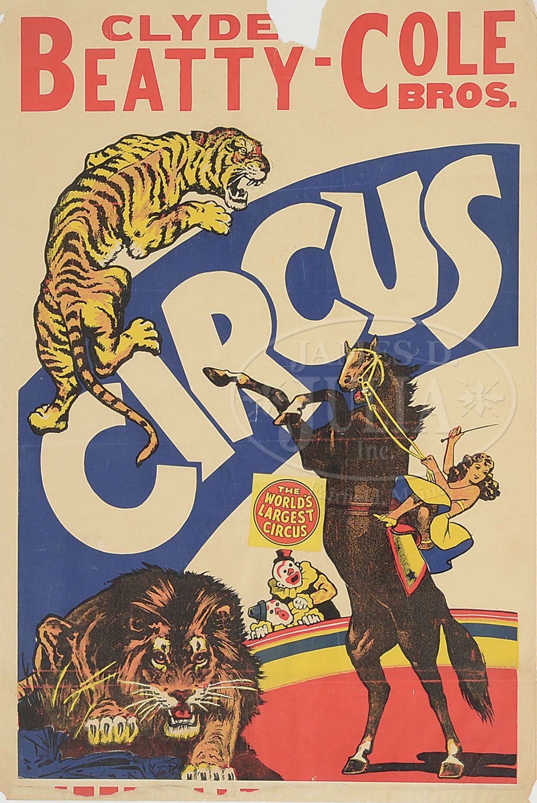 Free Vintage Circus Posters Page 2