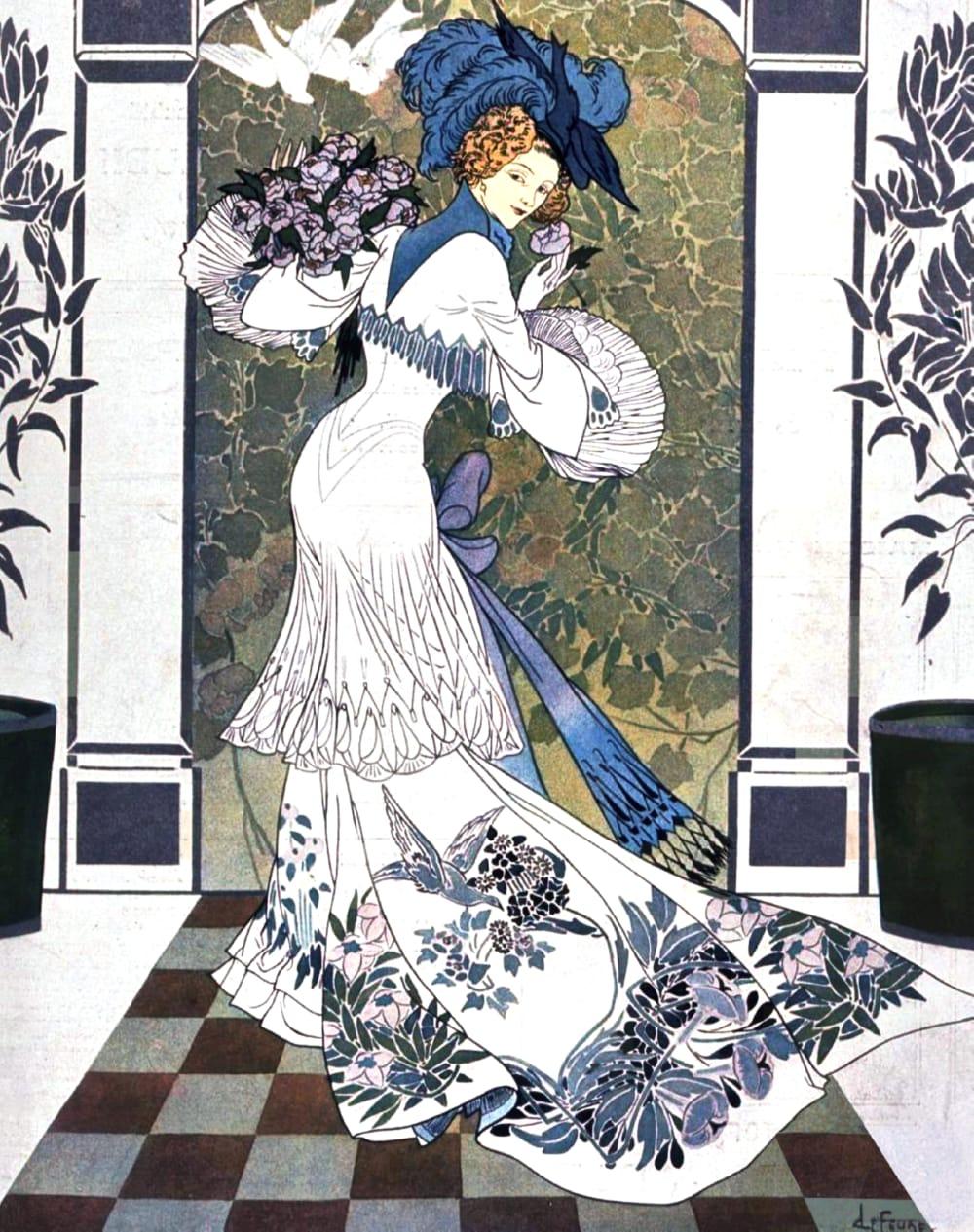 Modern Art Movements (1870-1970) - Art Encyclopedia Art nouveau modern fashion