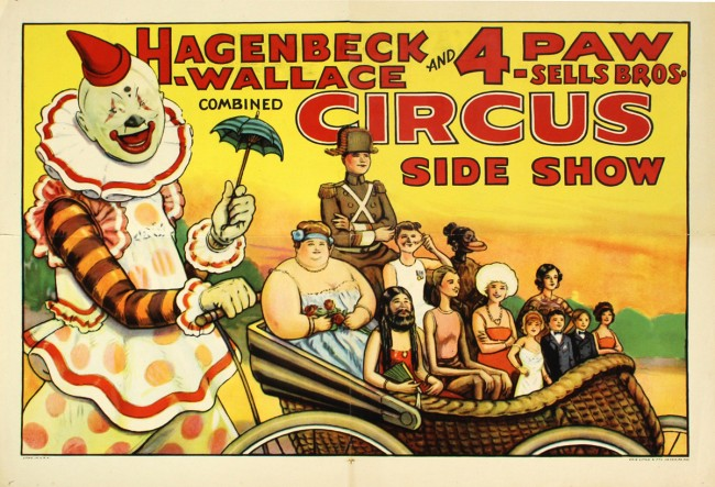 Vintage Circus Posters 3