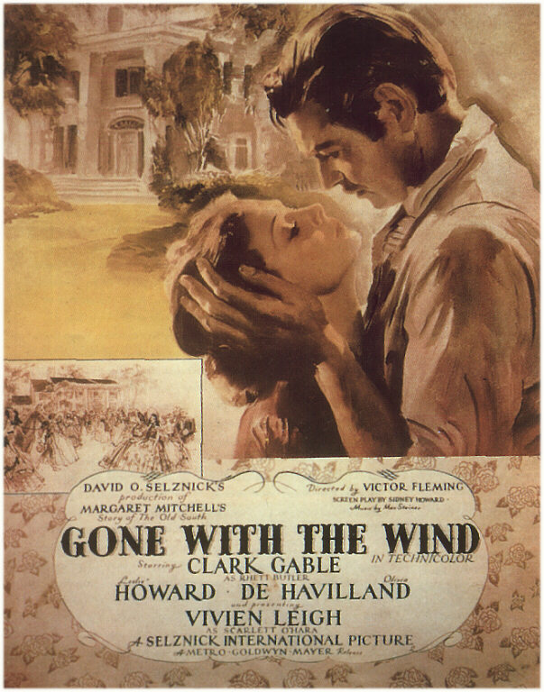 gone with the wind 1939 movie poster