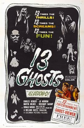 13 Ghosts 01 movie poster