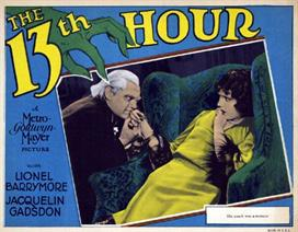 13th Hour 1927 1 movie poster