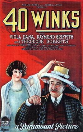 40 Winks 1925 1A3 movie poster