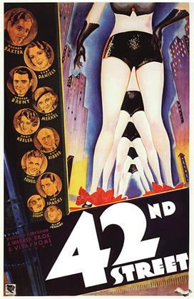 42nd street 1933 movie poster