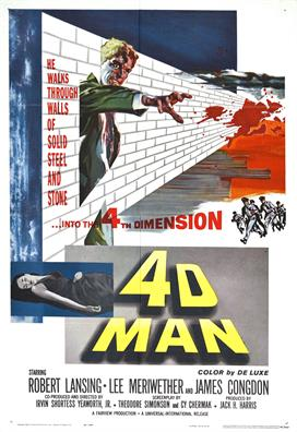 4d Man 01 movie poster