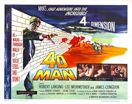 4d Man 04 movie poster