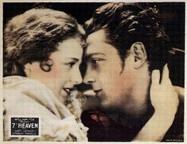 7th Heaven 1927 2 movie poster