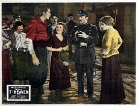 7th Heaven 1927 3 movie poster