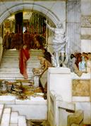 Alma Tadema After the audience
