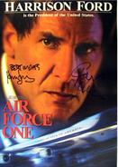 Air Force One cast Autograph