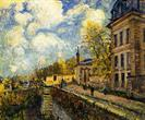 Alfred Sisley the factory at sevres 1879