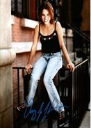 Amy Jo Johnson Autograph