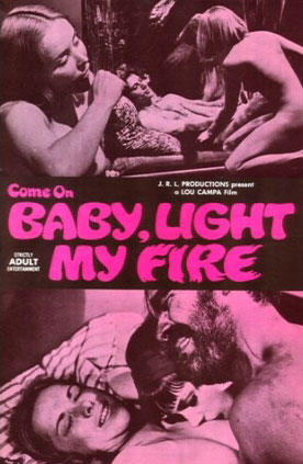BABY LIGHT MY FIRE movie poster