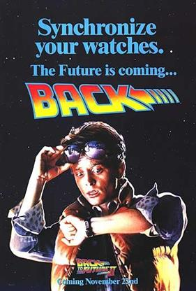 BACK TO THE FUTURE II TEASER movie poster
