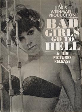 BAD GIRLS GO TO HELL movie poster