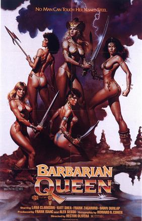 BARBARIAN QUEEN movie poster