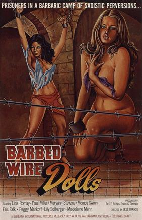 BARBED WIRE DOLLS movie poster