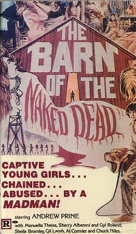 BARN OF THE NAKED DEAD movie poster