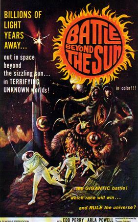 BATTLE BEYOND THE SUN movie poster