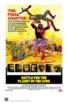 BATTLE FOR THE PLANET OF THE APES movie poster