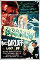 BEDLAM movie poster